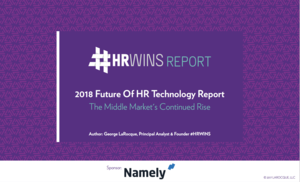 2018 Future of HR Technology Report