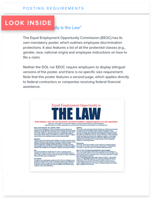 Labor Law Posters 2018
